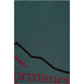 Peak Performance Explr Hill Print Tee Dame aquaterm